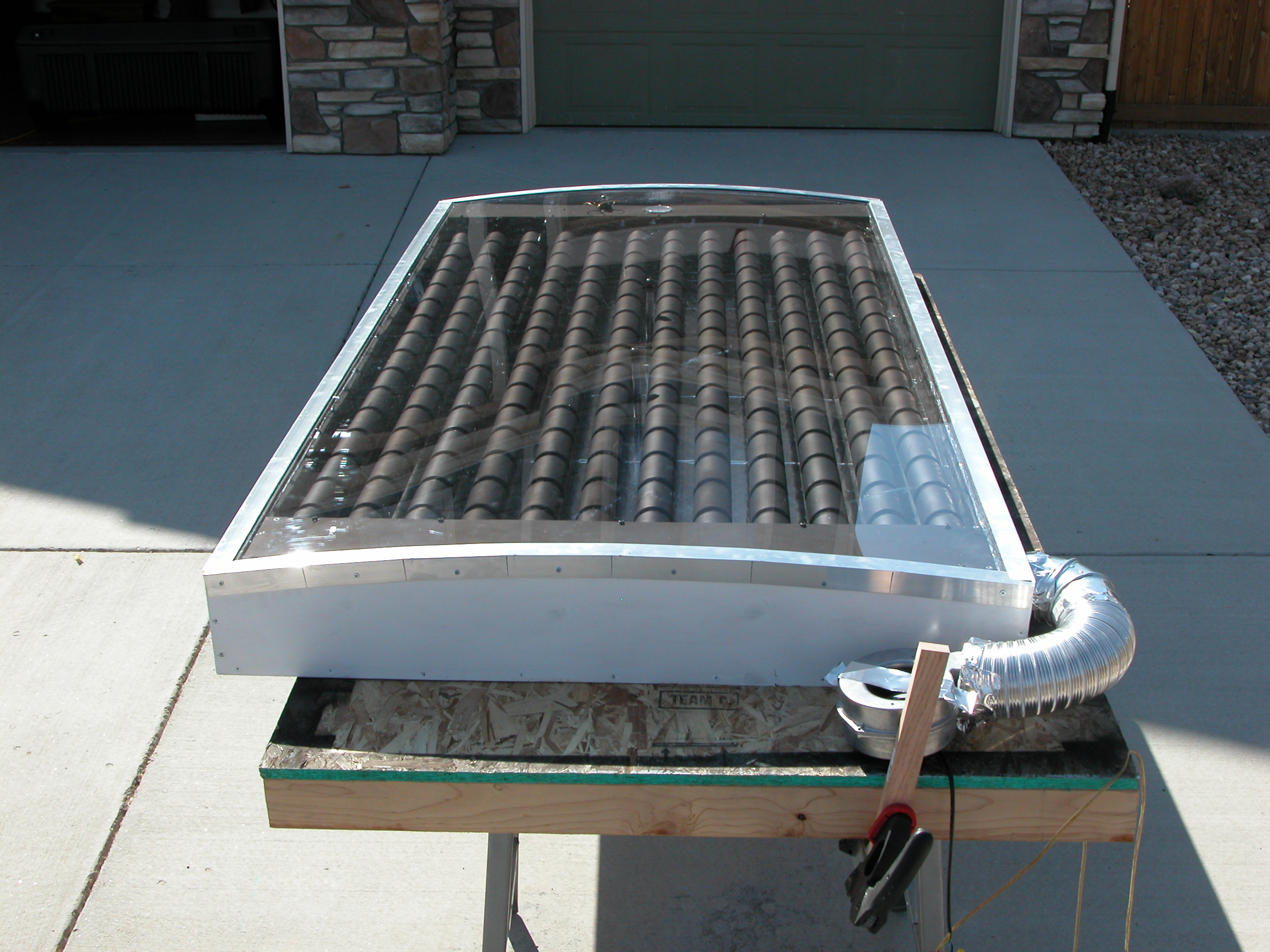 DIY Solar Can Heater - Odd Jobs - Home Handyman - DIY Solar Heater